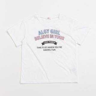 2019SS新品☆ ALGY (アルジー)☆カラフルロゴTシャツ
