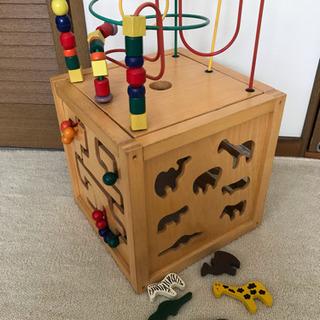 エドインター 木製おもちゃ 知育玩具 森のあそび箱