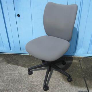 事務イス ライオン製LEOシリーズ グレー オフィスチェア 椅子