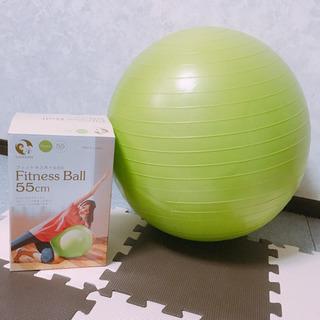 バランスボール フィットネスボール 55センチ