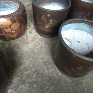 小型火鉢6個セット