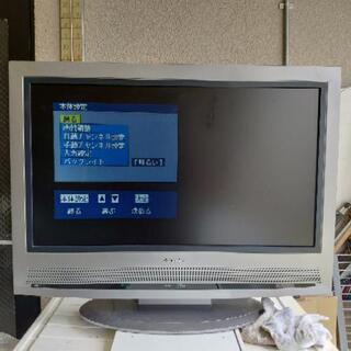 32インチ液晶テレビ ビデオ端子 S端子 D端子 対応