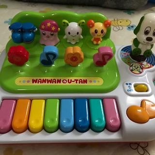 ワンワンとうーたんのいっしょに歌ってピアノ