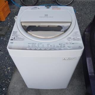 取引予定者決定!洗濯機 6kg (風乾燥付き) 美品