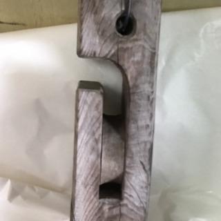 木製 滑車