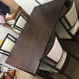 ダイニングテーブル 椅子 4脚セット 4人がけ