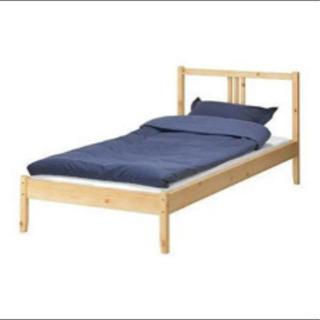 IKEA シングルベッド FJELLSE  すのこ LUROY