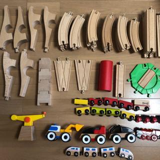 IKEA 電車、レール、車 /BRIO動力電車 /HABA電車
