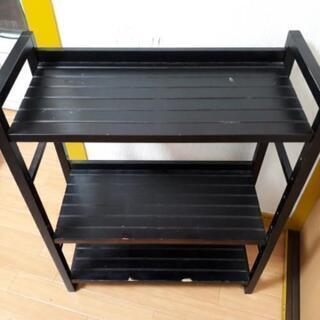 ウッドラック3段 - 家具