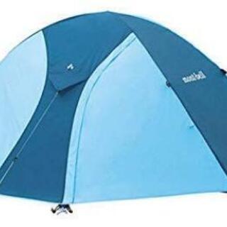 テント モンベルクロノスドーム2型