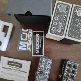 Mooer micro preamp 008/011 セット