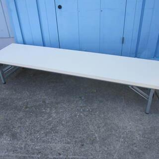 座卓 折りたたみテーブル ホワイト