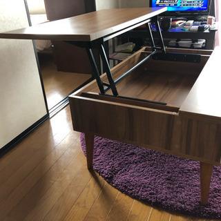 可動式天板のローテーブル - 売ります・あげます