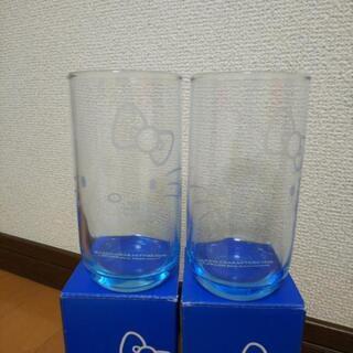 【新品】ハローキティ サンリオ LAWSON ローソン グラスタンブラー2個 - 仙台市
