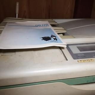 印刷機差し上げます。もらってください