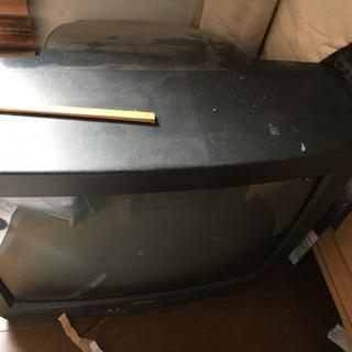 ジャンク ブラウン管テレビ
