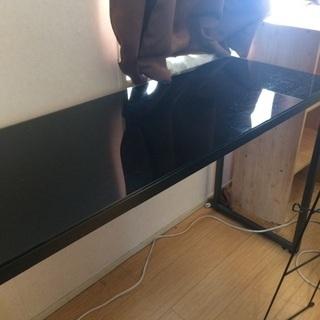 最終値下)8/22迄 素敵なブラックの細長テーブル