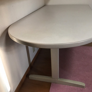 【White】長テーブル【ほぼ未使用】