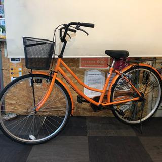 26インチ 自転車 オレンジ
