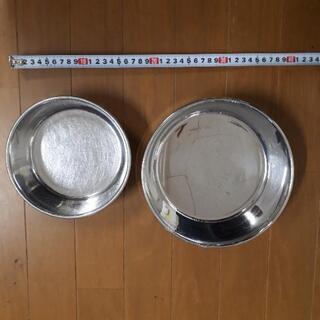 ペット用食器・ステンレス・餌皿・水入れ