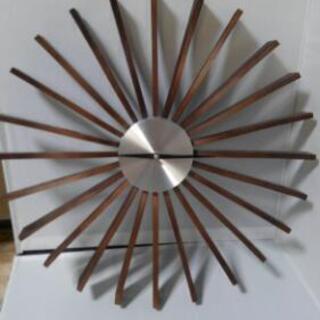 アンティーク 木製時計