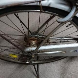 26インチ ママチャリ 3段変速 付き - 自転車