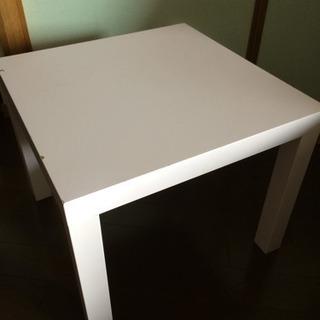 IKEA LACK ラック 木製テーブル パステルピンク キッズ