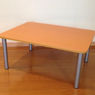 ニトリ ローテーブル(80x60x35cm)