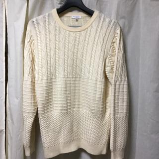 UNITED ARROWS セーター Lサイズ ホワイト 美品
