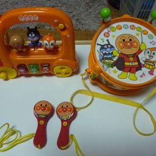 アンパンマン 音の出るおもちゃ3点セット