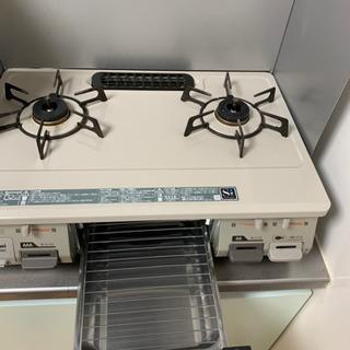グリル付きテーブル RINNAI プロパン SIセンサーコンロ