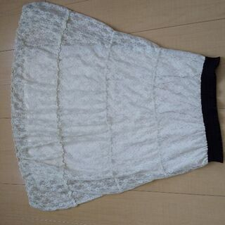 レース生地 スカート
