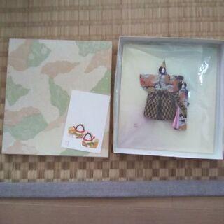 千代紙で作った雛人形(その1)