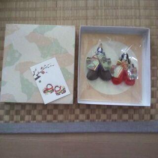 千代紙で作った雛人形(その2)