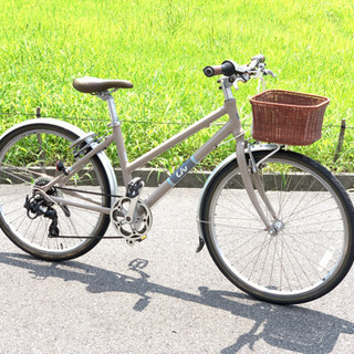 女性用クロスバイク GIANT Liv SUITTO W カゴ付き