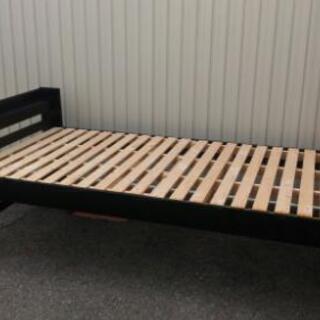 サンハーベスト すのこベッド 3段階高さ調整可能 美品 コンセント付き