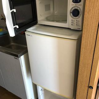SHARP SJ714 冷蔵庫とレンジ