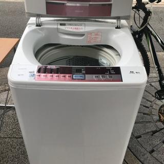 #2607 日立 洗濯機 ビートウォッシュ7kg BW-7…