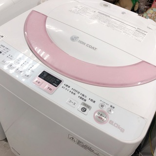 【駅近】SHARP6.0㎏洗濯機(14,800円)【トレファク南柏】