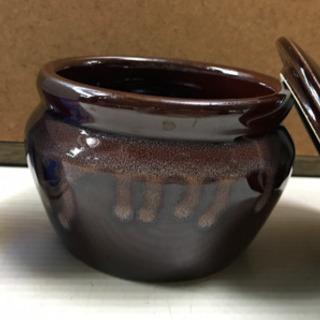 和風 陶器の入れ物  1つ