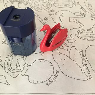 海外メーカー鉛筆削り2個