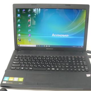 ノートパソコン Lenovo G505 新品SSD Win10 ...