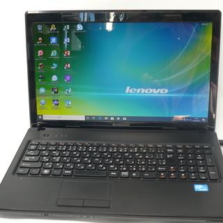 ノートパソコン Lenovo G570 新品SSD Win10 ...