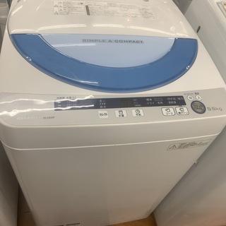 SHARP 全自動洗濯機 ES-GE55P 5.5kg 2014年製