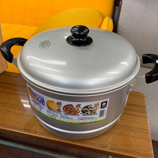 ◇ツルマル印  未使用  蒸し器 兼用 鍋