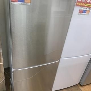 1年保証つき!ELSONIC 2ドア冷蔵庫 EH-R1482F...
