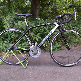 美品 giant フルカーボン ロードバイク tcr compo...