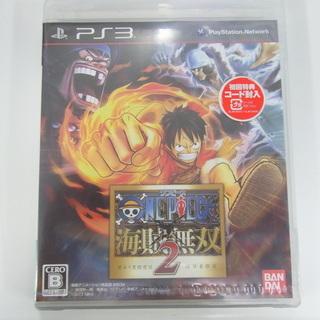 値下げ品 新品 PS3ソフト 海賊無双2 ワンピース