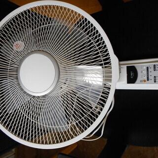 壁掛け扇風機 リモコン付