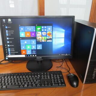 HP 6300P i5 3世代 3470 モニター WIN10 ...